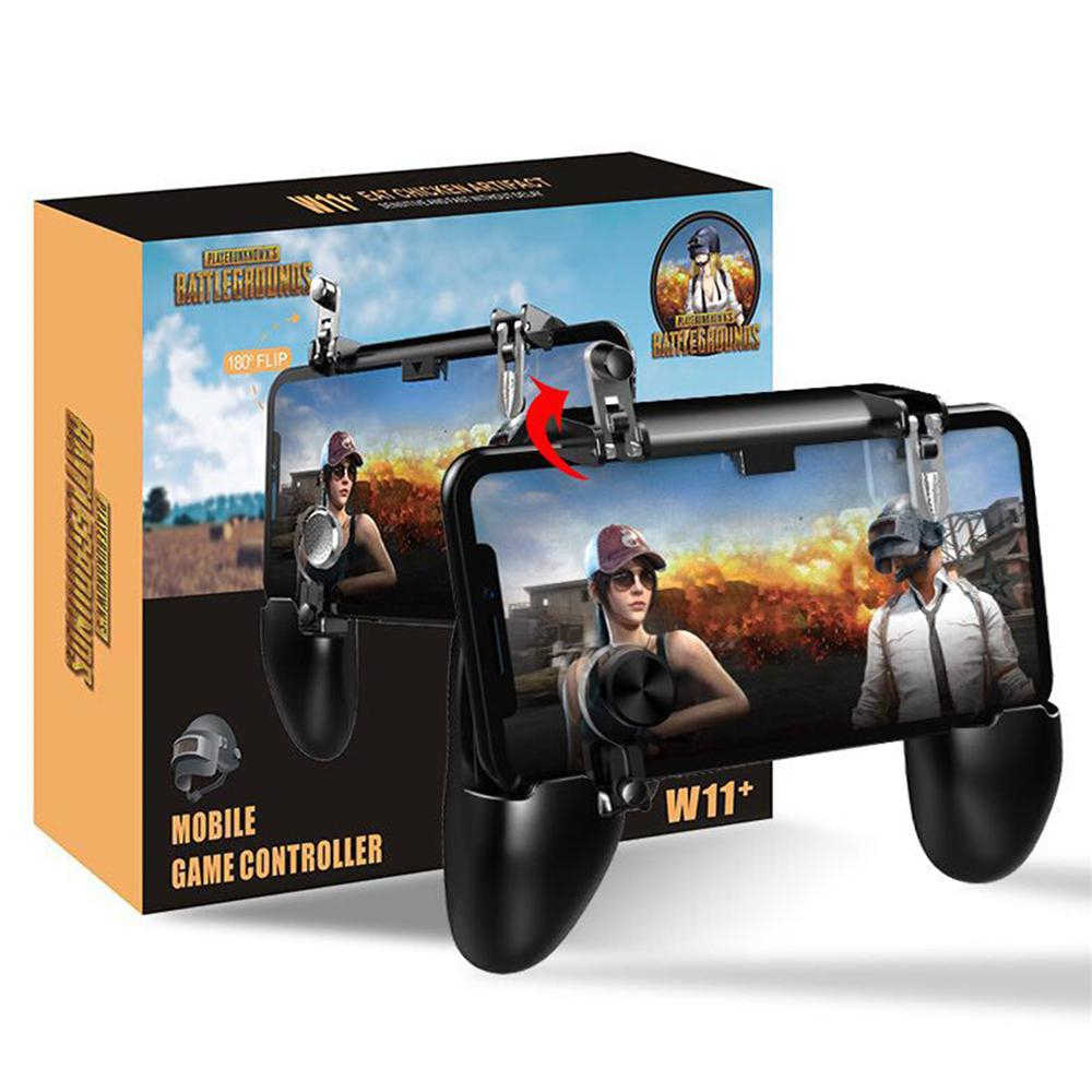 W11 Joystick Gamepad Alle-In-een Mobiele Game Game Fire-Gratis Pad Pubg Mobiele Game Controller Pubg l1 R1 Trigger Per Game