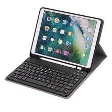 Bluetooth Keyboard Case for Apple New ipad 10.2 Pro 10.2  Keyboard Case Cover Funda Pencil Slot