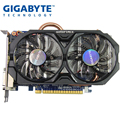 USED, Gigabyte GTX 750 TI 2G WINDFORCE Graphics Card Dual Fan Cooling Dual DVI Dual HDMI Interface For LOL CSGO PUBG