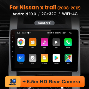 AWESAFE PX9 for Nissan X-trail t31 2007-2013 X trail Car Radio Multimedia video player GPS No 2din 2 din Android 10.0 2GB+32GB