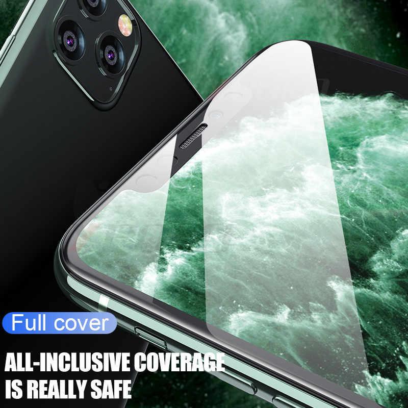 200D Bordo Curvo Vetro di Protezione per per Iphone 7 8 6 6 S Plus Temperato Protezione Dello Schermo per Il Iphone 11 Pro X Xr Xs Max di Vetro