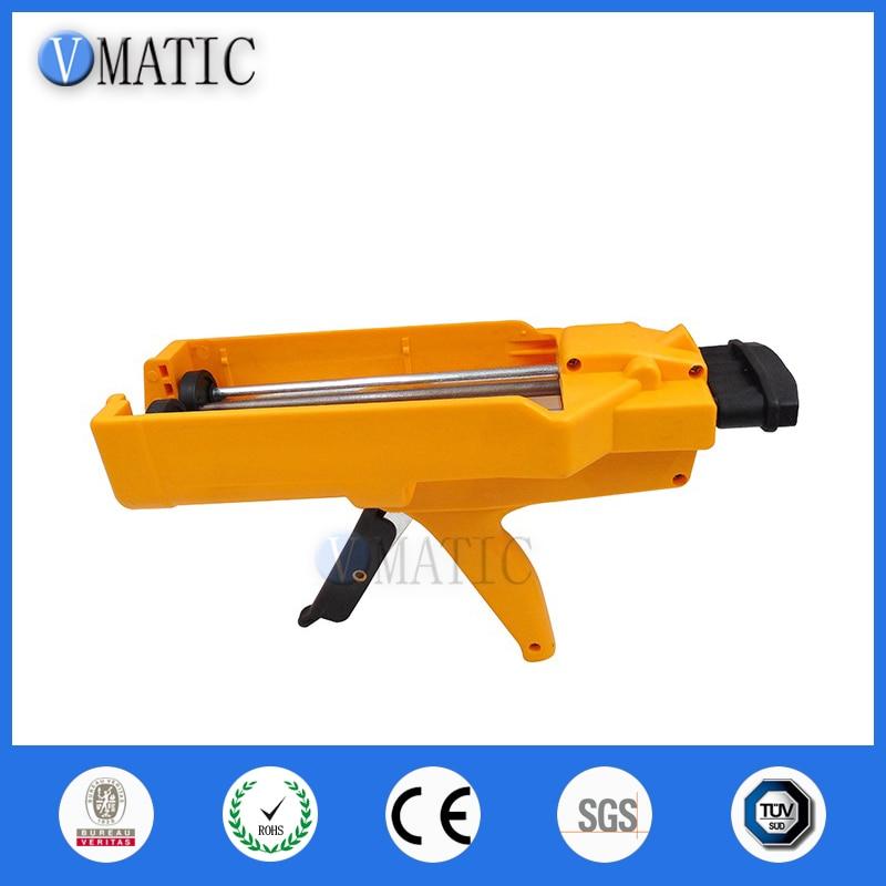 Free Shipping Aliexpress Fast Selling Quality 600cc 1:1 1:2 AB Glue Gun Manually AB Glue Cartridge Gun Caulking Gun 600ml