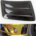 1 пара W204 C63 углеродное волокно боковое крыло вентиляционное отверстие гриль для Mercedes Benz C63 AMG 2008 2009 2010