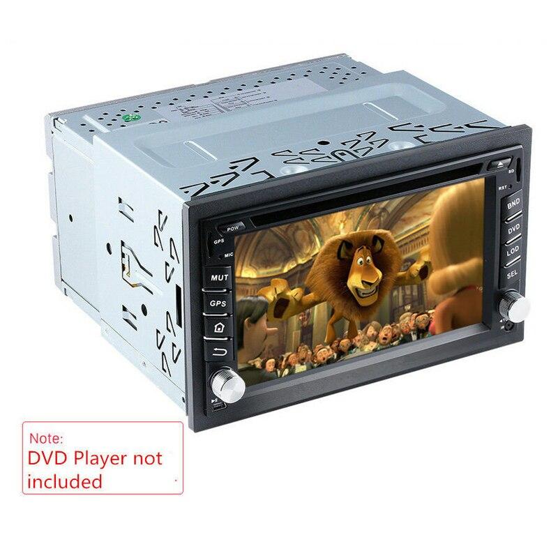 ใหม่รถวิทยุสเตอริโอ DVD ติดตั้งซ่อมเครื่องมือ Dash แผงกรอบฮาร์ดแวร์ชุด