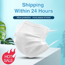 20pcs disposable face mask anti dust air pollution PM2.5 full protective shield protection for mouth facial mask mascarillas