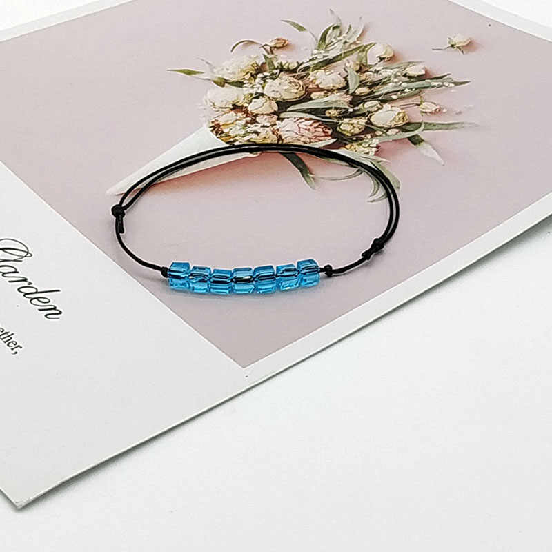 2019 New Fashion Crystal Bracelet For Women Men Simple Rope Chain Trendy Men Bracelet Gift
