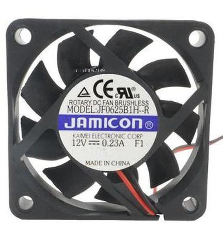 For Original  6025 6CM 12V 0.23A JF0625B1H-R 60 * 60 * 25mm Drive Hard Drive Fan Free Shipping