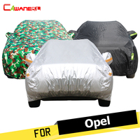 Cawanerl Auto Abdeckung Regen Sonne Schnee Beständig Auto Abdeckung Für Opel Combo Signum Tigra Antara Corsa Meriva Omega Insignia KARL GTC|cover knife|cover effectscover phone -