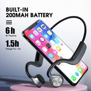 Image 3 - Original Wireless Headphones Bone Conduction Bluetooth BT 5.0 Earphone Binaural Stereo Noise Reduction HD Sound Quality Earphone