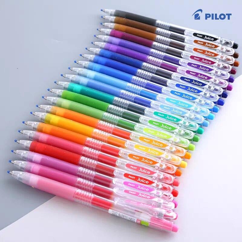 2pcs Japan Pilot Juice Gel Pen 0.38 Mm Smooth Perfect For Plan Handbook Doodle Writing Supplies Stationery Pens LJU-10UF