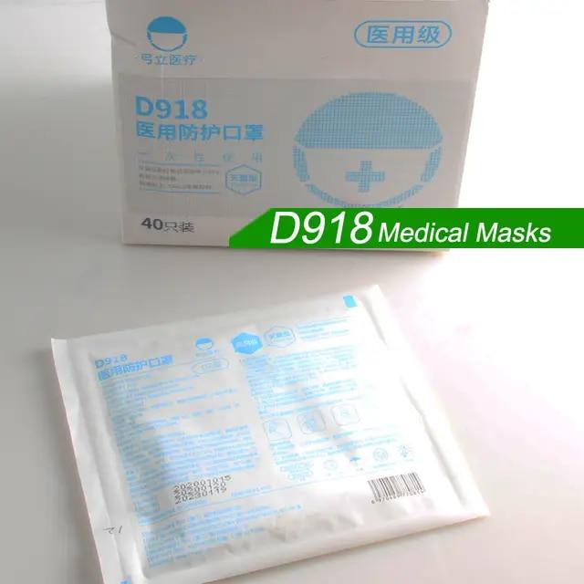10 pz maschera antipolvere n95 4 strati valvola ffp2
