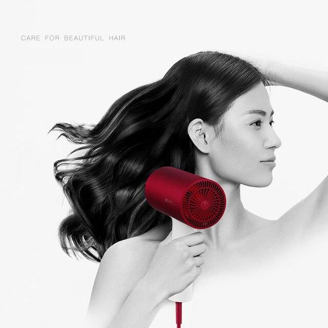 Xiaomi SOOCAS profesjonalny elektryczny suszarka do włosów negatywny Lons H3S szybkoschnący 1800W anti-oparzenia dysza projekt dla rodziny
