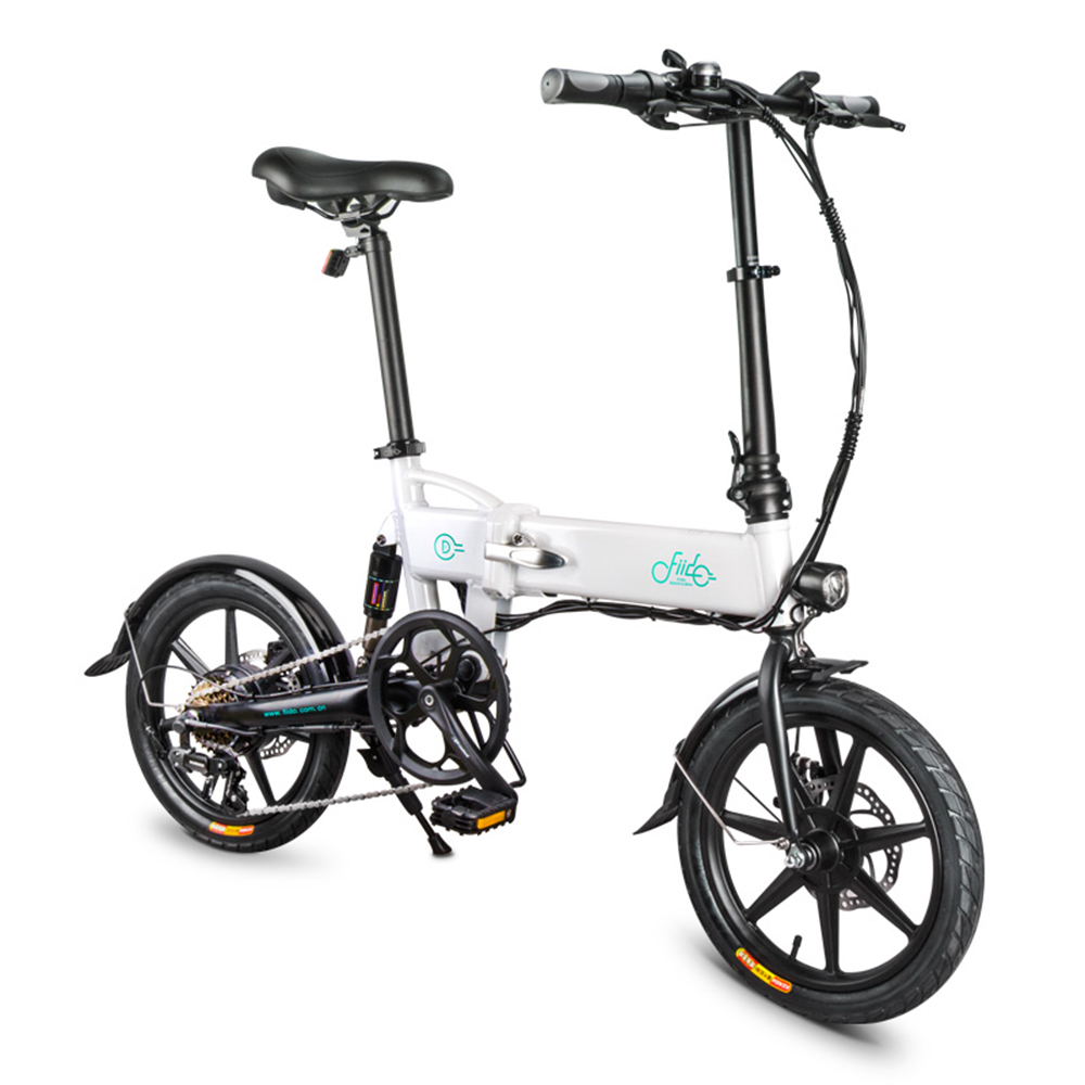 Three Modes 16 Inch Variable Speed Folding Power Assist Electric Bicycle Moped E-Bike 250W Brushless Motor 36V 7.8AH