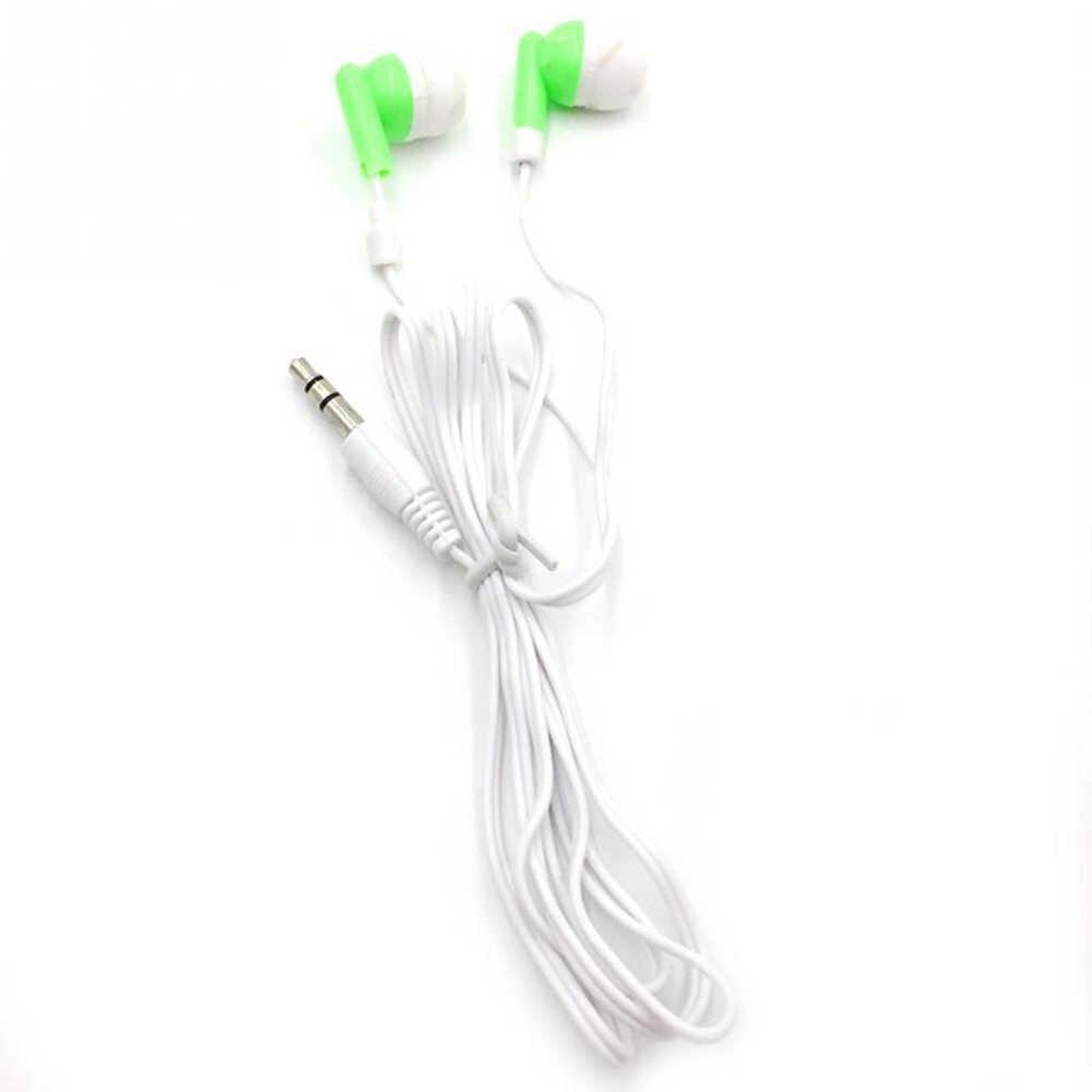 جديد أزياء سماعة أذن تستخدم عند ممارسة الرياضة الجملة السلكية سوبر باس 3.5 مللي متر 5 الملونة سماعة عالية الجودة