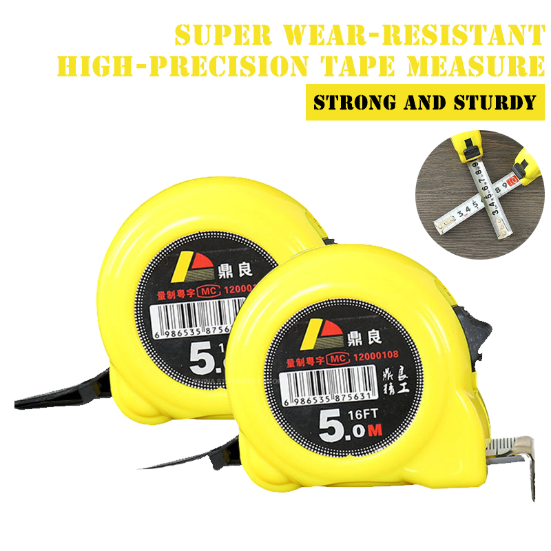 Steel Tape Measure 3m5m7.5m10m High Precision Measurement Steel Tape Measure