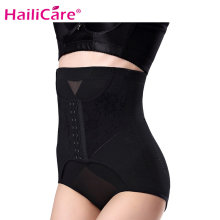 High Waist Trainer Firm Tummy Control Body Shaper Seamless Underwear Thong Butt Lifter Plus Size Sexy Shapewear