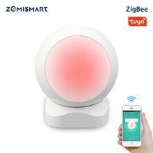 Zemismart Tuya Zigbee PIR 적외선 PIR 모션 감지 스마트 센서 무선 보안 경보 감지기 시스템