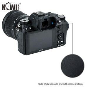 Image 4 - Kiwiนุ่มซิลิโคนExtendedกล้องEyecupช่องมองภาพสำหรับNikon Z5 Z7 Z6 Z6II Z7IIยาวEye Eye Eyeshadeแทนที่DK 29