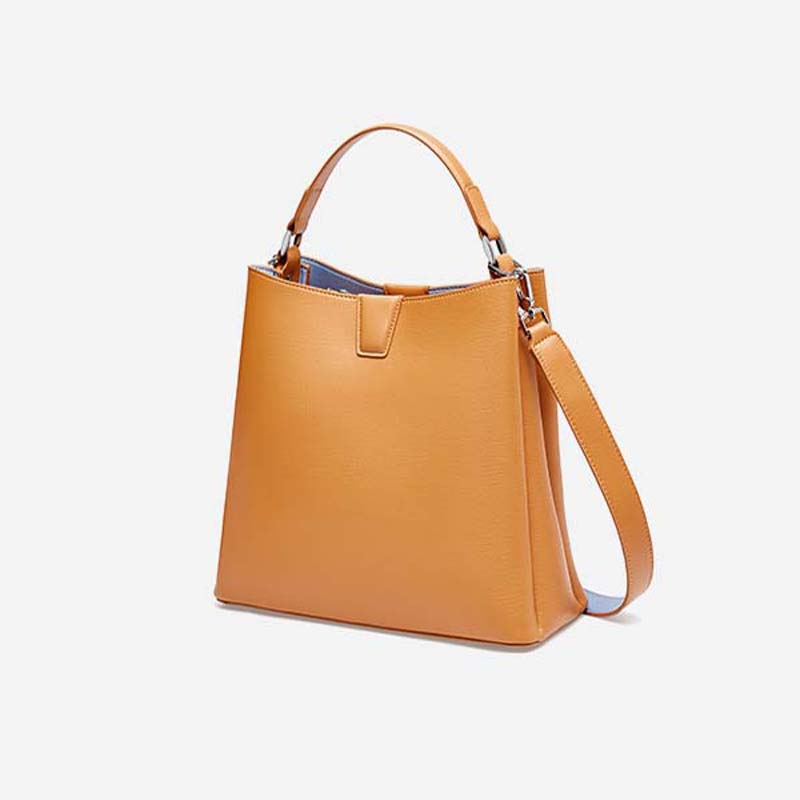 Bags For Women 2019 Genuine Leather Bucket Bag Ladies Top Hand Bags Girls Crossbody Clutch Purse Totes Bolsa Feminina