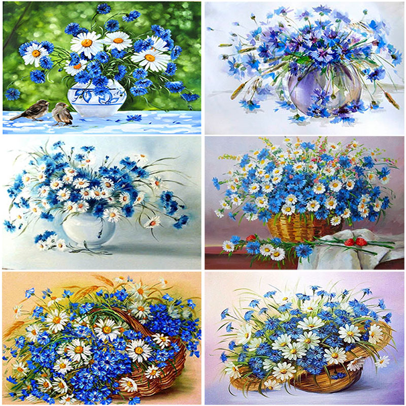 DIY 5D Diamond Embroidery Painting Full Drill Mosaic Cross Stitch Diamant Bilder