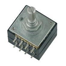Поворотный потенциометр 50K LOG ALPS RH2702, регулятор громкости звука, стерео W Loudness L