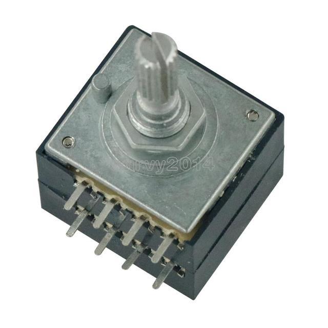 Rotary Potenziometro 50K LOG ALPI RH2702 Controllo del Volume Audio Pentola Stereo W Volume L