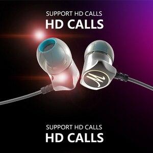 Image 1 - QKZ DM7 Speciale Editie słuchawki metalowe Stereo izolacja hałasu słuchawka douszna wbudowany mikrofon HiFi ciężki bas 3.5mm słuchawki douszne HD HiFi