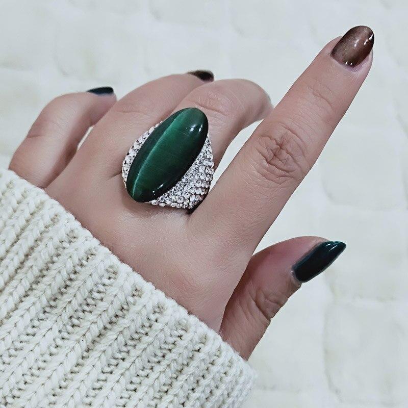 Green Opal Ring - I Love Fashion 365 - Zovasa