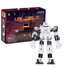 27cm minha linha de tempo do robô núcleo m gráfico programável kit robô humanóide educacional brinquedos de alta tecnologia branco