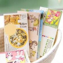 60 folhas/lote bloco de notas pegajosas rolo de papel diário scrapbooking adesivos escritório escola papelaria bloco de notas