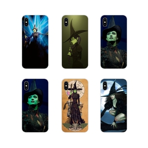 For Samsung A10 A30 A40 A50 A60 A70 Galaxy S2 Note 2 3 Grand Core Prime Transparent TPU Cover Bag Broadway Musical Wicked Lyrics(China)
