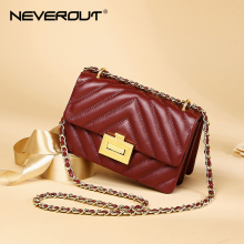 NEVEROUT Genuine Leather Small Flap Bags for Women 2019 High Quality Messenger Ladies Crossbody Bag Handbag Girls Clutches