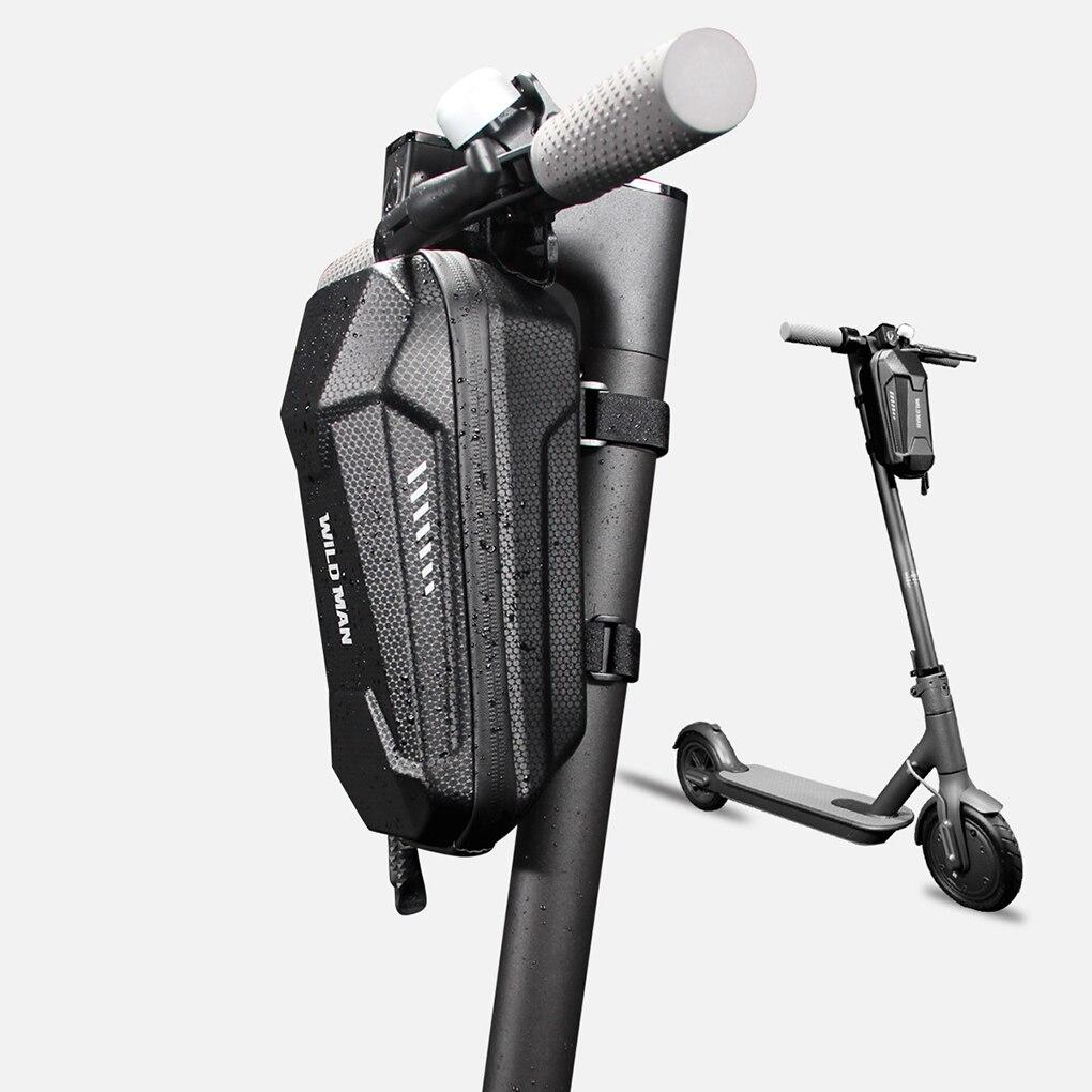Wilde Man Universele Elektrische Scooter EVA Hard Shell Zakken Waterdichte Reflecterende Elektrische Scooter Opbergtas