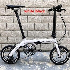 Image 4 - YNHON Folding Bike Aluminun Alloy 412 14/16 Inch Single speed Outside Three speed Kid Childrens Bicycle Mini Modification