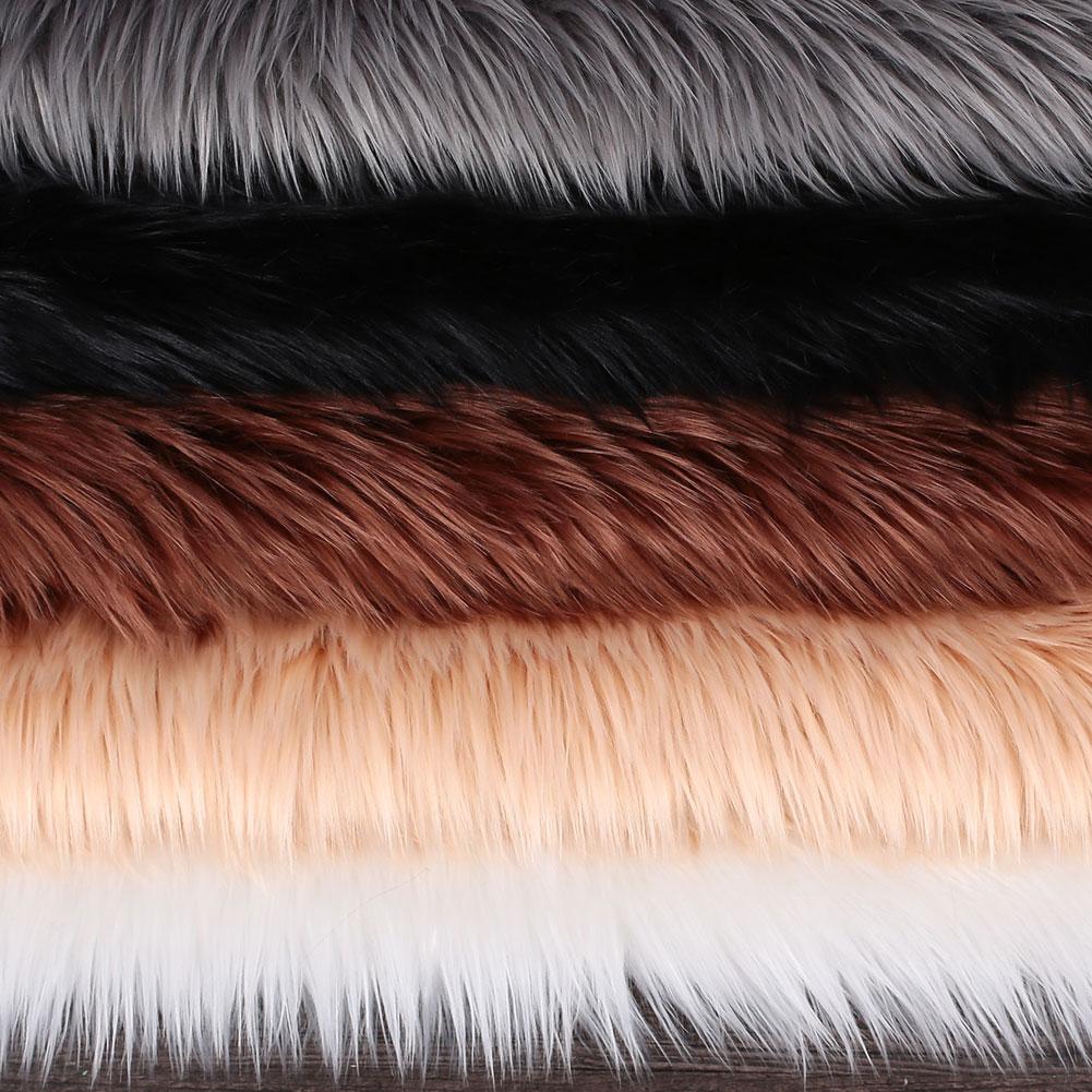 Tapis de laine multicolore étage maison chambre tapis moelleux luxueux forme irrégulière salle à manger tapis tapis plancher chaise décoration - 4