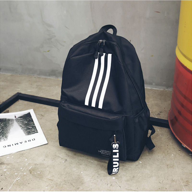 Backpack Male Large Capacity Couple Backpack College High School Student Bag Campus Travel Tide Brand Backpack Backpack Women