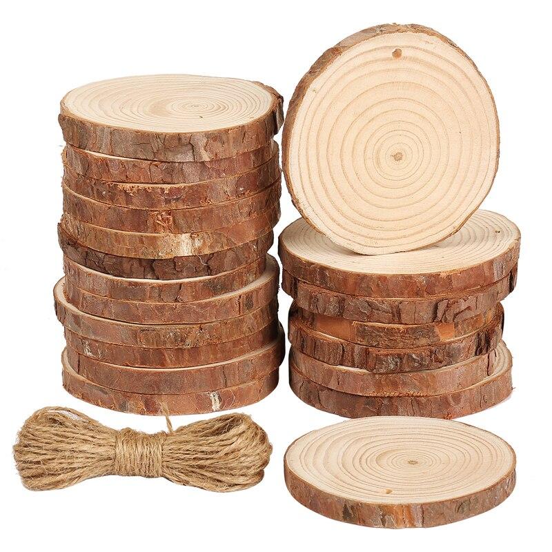 1 шт. необработанные натуральные деревянные ломтики, предварительно просверленные с отверстием для рукоделия, Свадебная вечеринка, живопис...