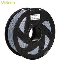 Filamento 3d pla 1.75 multi-cores 1kg plástico carretéis filamento 1.75 impressora 3d filamento impressão 3d filamentos