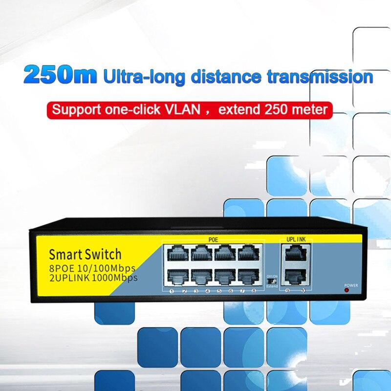 sem fio ou câmera de vigilância de rede 0-250 metros