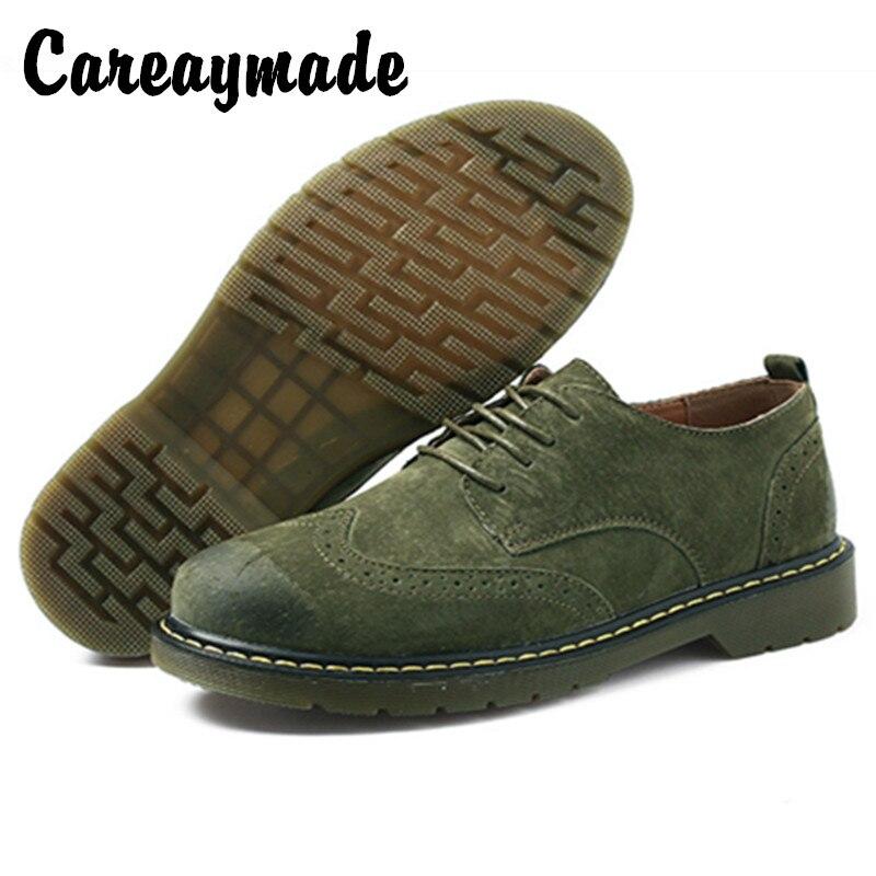 Careaymade-nouvelle mode bas Martin chaussures couleur pure tête ronde confortable respirant britannique anti fourrure chaussures décontractées