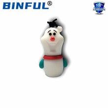 BINFUL Christmas Gift pamięć USB 4GB 8GB 16GB 32GB 64GB 128GB długopis do kartonu karta pamięci karta Memory stick U dysk USB pendrive