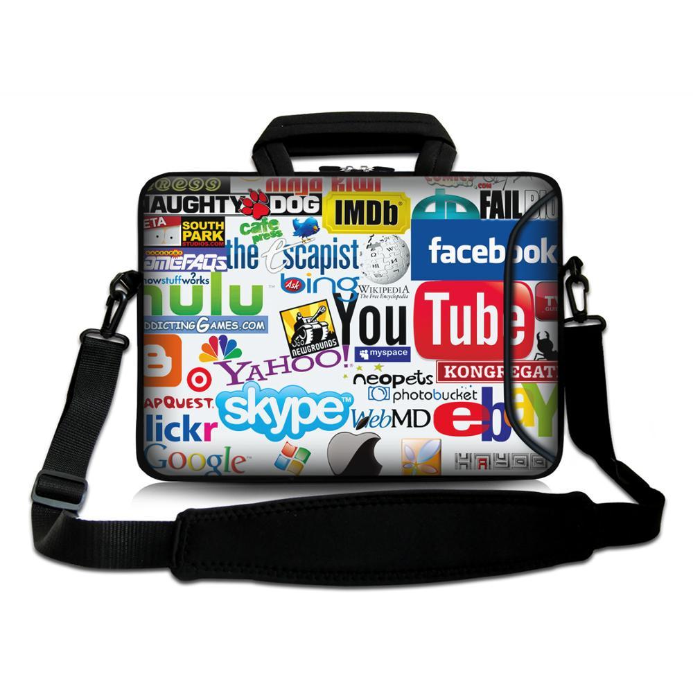 Laptop bag 10″11″12″13″13.3″14″15″15.6″17″17.3″for ipad/macbook air laptop messenger school bag men women bag laptop accessories