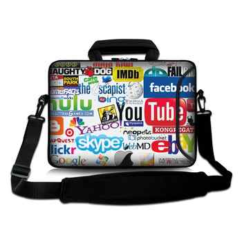 Fashion Laptop bag 10 11 12 13 14 15 15.6 17inch for ipad/macbook air/pro/lenovo shoulder bag men laptop accessories Waterproof - DISCOUNT ITEM  24% OFF All Category