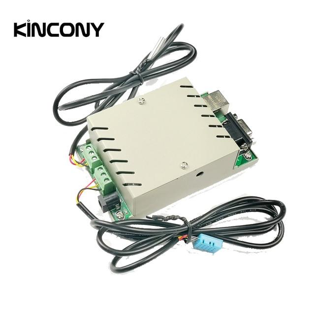 Kincony 온도 습도 센서 감지 app 프로토콜 디지털 온도계 수분 측정기 smart home weather station
