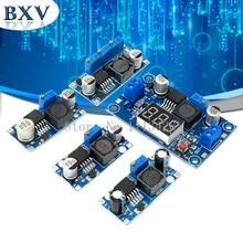 Lm2596 lm2596hvs módulo de fonte de alimentação DC-DC buck 3a ajustável buck módulo regulador ultra lm2596s step down 24v interruptor 12v 5v 3v