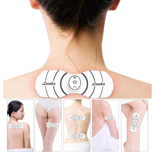 Smart Physiotherapy Massage Stickers Cervical Pulse Acupuncture Electrotherapy Massager Muscle Dredge Health Care Tool