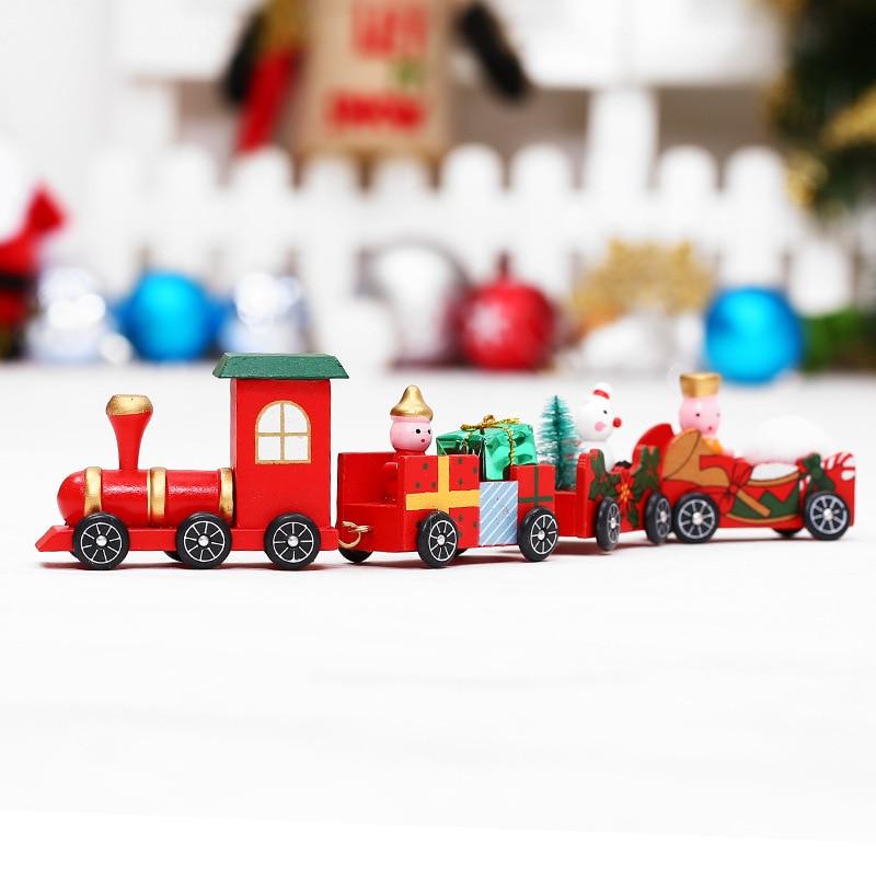 Decoracao De Natal Trem Expresso Polar Trem De Natal Brinquedos De Madeira Thomas Decoracao Artesanato Festival Shopping Arranjo Brincadeiras E Piadas Aliexpress