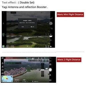 Image 5 - Pilot Yagi wzmacniacz sygnału anteny wzmocnienie dla DJI Mavic Mini Pro Zoom Spark Air FIMI X8 SE 2020 Drone akcesoria