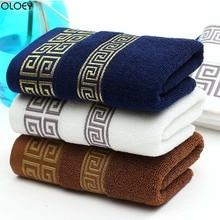 Мягкое хлопковое банное полотенце OLOEY, 1 шт., пляжное полотенце для взрослых, абсорбирующее махровое роскошное полотенце для лица, для взрослых мужчин и женщин, базовое полотенце s