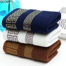 OLOEY 1PC Soft Cotton Bath Towels Beach Towel for Adults Absorbent Terry Luxury Hand Face Sheet Adult Men Women Basic Towels(China)